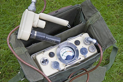 Terrorism Photograph - Military Radiation Meter by Sheila Terry