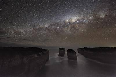 Moonlit Night Photograph - Milky Way Over Shipwreck Coast by Alex Cherney, Terrastro.com
