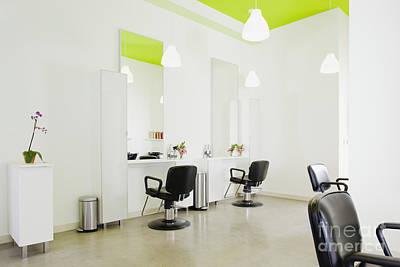Modern Hair Salon Art Print