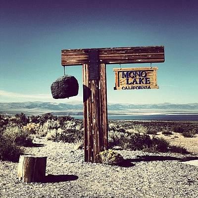 California Wall Art - Photograph - Mono Lake by Luisa Azzolini
