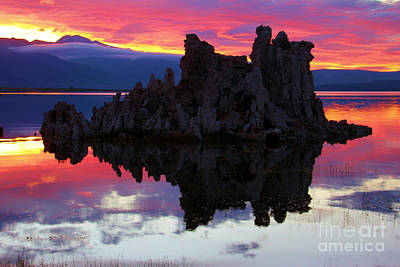 Photograph - Mono Lake Sunset by Adam Jewell