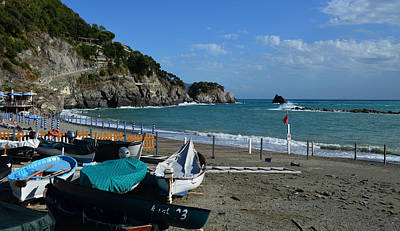 Photograph - Monterosso by Barbara Walsh