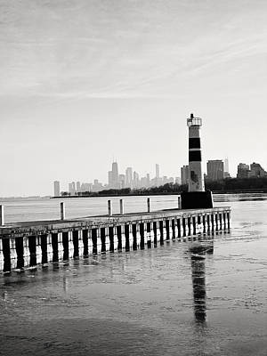 Photograph - Montrose Harbor by Laura Kinker