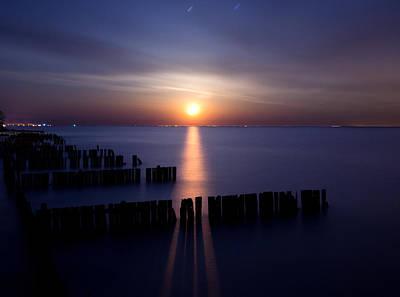 Landscape Photograph - Moonrise by Cale Best