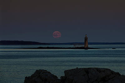 Photograph - Moonrise by Sara Hudock