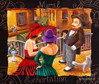 Painting - Moral Exhortation by Igor Postash
