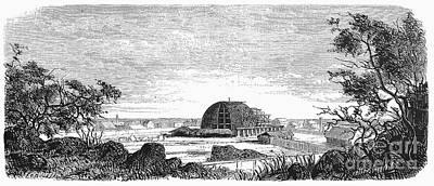 Mormon Tabernacle, 1868 Art Print