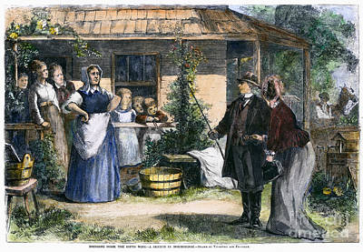 Mormon Wives, 1875 Print by Granger