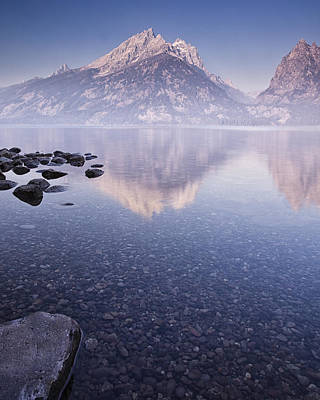 Teton Mountains Photograph - Morning Calm by Andrew Soundarajan