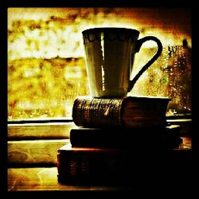 Foodie Photograph - Morning Cup. #ilovecoffee #instacoffee by Mary Carter
