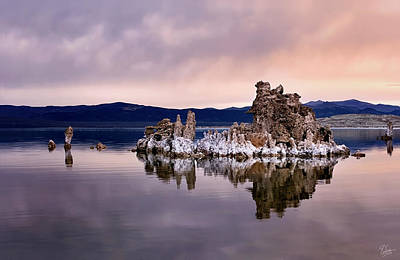 Photograph - Morning Tufa One by Endre Balogh
