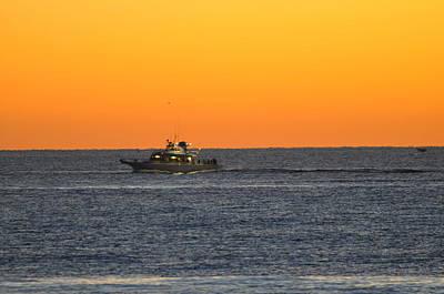 Photograph - Morning Voyage  by Joe  Burns