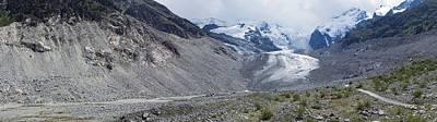 Morteratsch Glacier, Switzerland Print by Dr Juerg Alean