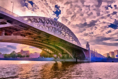 Photograph - Moscow's Bridges by Michael Goyberg