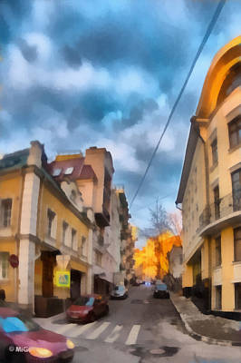Photograph - Moscow's Streets by Michael Goyberg