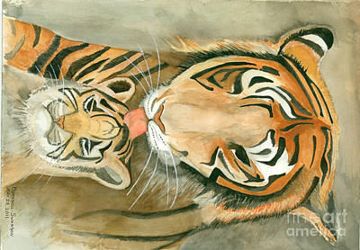 Mother's Love Art Print by Delores Swanson