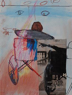 Drawing - Motion by Iris Gill