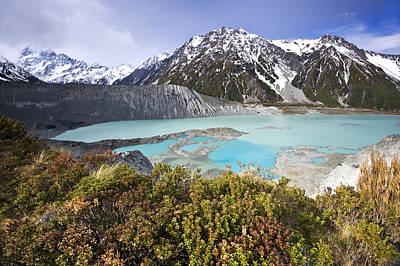 New Zealand Photograph - Mount Cook National Park by Ng Hock How