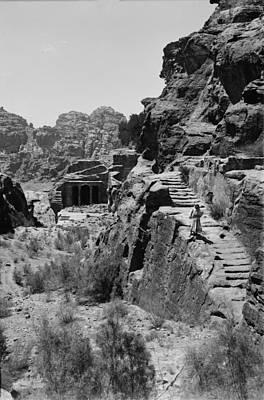 Mount Sinai, Trans-jordan. Petra Art Print by Everett