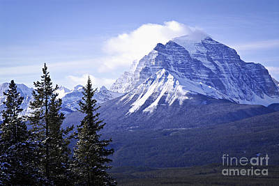 Mountain Rights Managed Images - Mountain landscape Royalty-Free Image by Elena Elisseeva