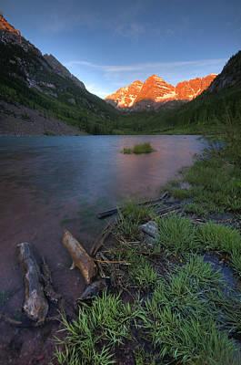 Photograph - Mountain Morning by Ryan Heffron