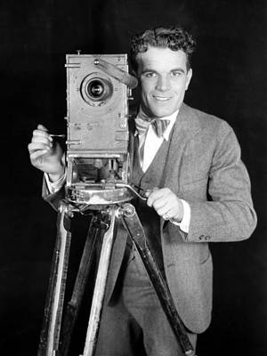 Photograph - Movie Camera, 1920s by Granger