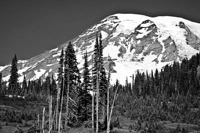 Photograph - Mt. Rainier IIi by David Patterson