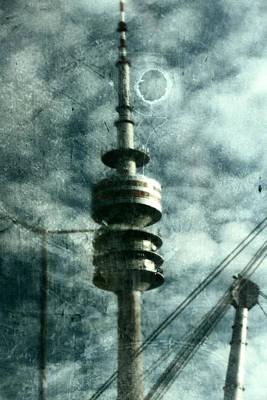 Munich Television Tower Art Print by Falko Follert
