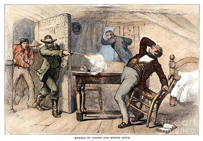 Murder Of Smith, 1844 Art Print