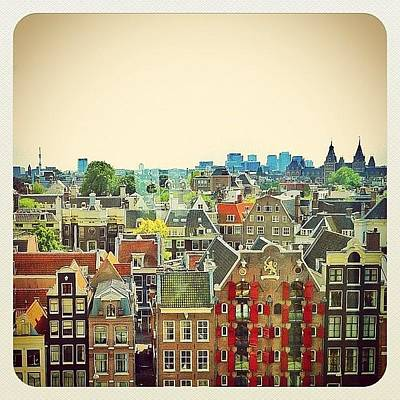 Colourful Wall Art - Photograph - My Amsterdam by Marianne Hope