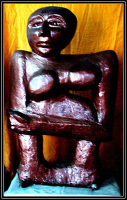 Sculpture - My Old Model by Anand Swaroop Manchiraju