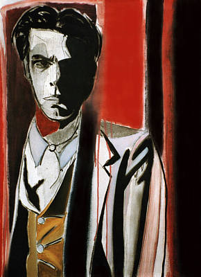 Nick Cave Painting - My Trail by Fabrice Plas
