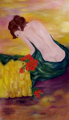 Painting - My Valentine by Annamarie Sidella-Felts