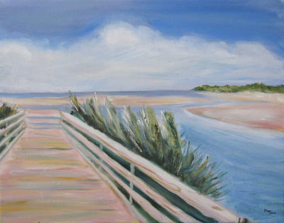 Painting - Myrtle Beach by Clara Sue Beym
