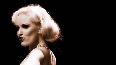 Photograph - Mystical Marilyn by Elizabeth Hart