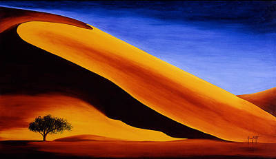 Mauro Painting - Namibia 2 by Mauro Celotti