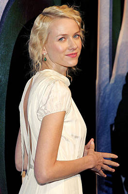Naomi Watts At Arrivals For King Kong Art Print by Everett