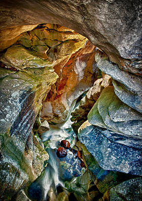 Photograph - Natural Bridge by Fred LeBlanc