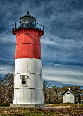 Photograph - Nauset Light by Fred LeBlanc