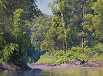 Painting - Near The River At Friars Point by Bill Jackson