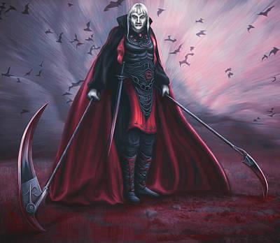 Necromancer Painting - Necromancer by Rick Ritchie
