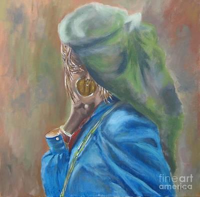 Painting - Nepal by Annemeet Hasidi- van der Leij