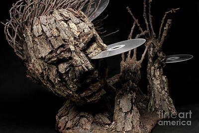 Fantasy Tree Mixed Media - Net Damage by Adam Long
