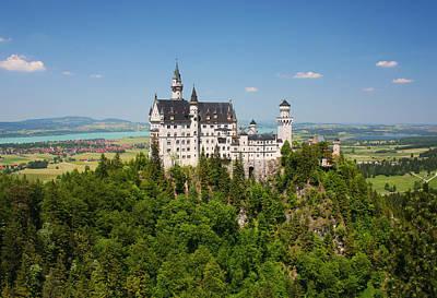 Neuschwanstein Castle Photograph - Neuschwanstein Castle by Dan Breckwoldt