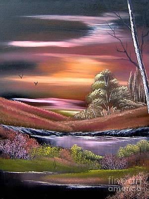 Neverland Art Print by Cynthia Adams