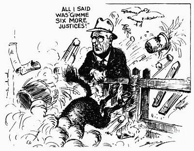 New Deal: Supreme Court Art Print by Granger