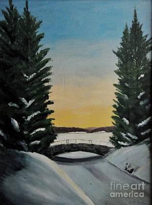 Photograph - New England Winter by John Black