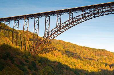 Photograph - New River Gorge Bridge by Steve Stuller