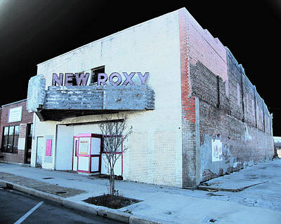 Photograph - New Roxy Clarksdale Ms by Lizi Beard-Ward
