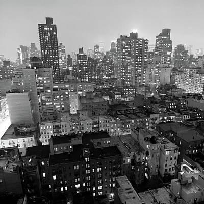 New York City At Night Art Print by Adam Garelick